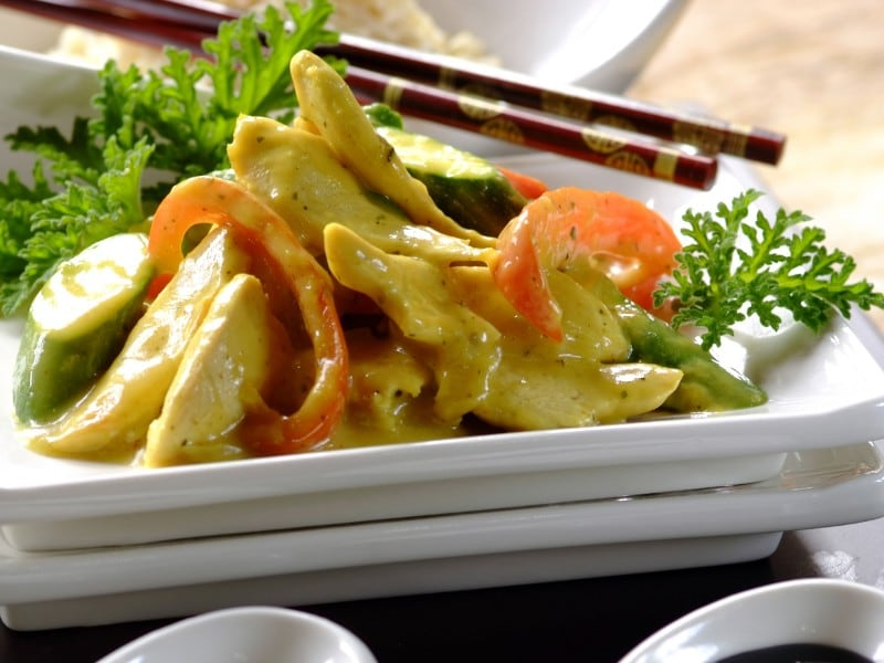 Thai kylling i karry