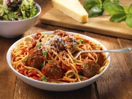 Spaghetti med kødboller new