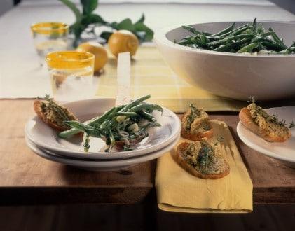 Knorr - Crostini mit grüner Olivenpaste