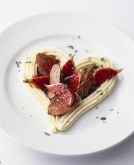 Knorr - Ragout von Entenbrust und Feigen mit Kartoffelstock