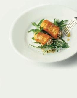 Knorr - Peperoni mit Thonfüllung auf Rucola