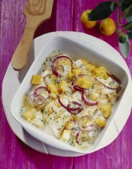 Knorr - Fischfilet in Sour Cream mit Mango