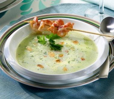 Knorr - Erbsen-Crème-Suppe mit Bratspeck
