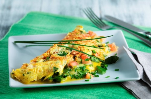 Knorr - Omelette fromage et légumes