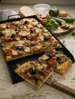 Knorr - Pizza aux légumes et au jambon