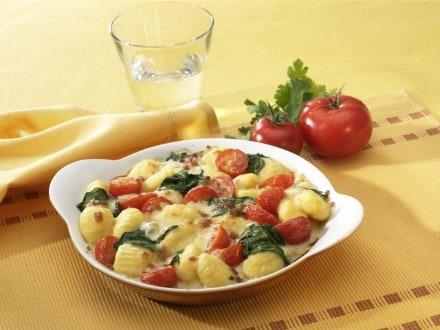 Knorr - Gratin de gnocchis aux épinards