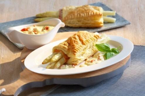Knorr - Asperges en pâte feuilletée