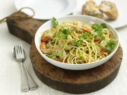 Knorr - Spaghetti et crevettes géantes