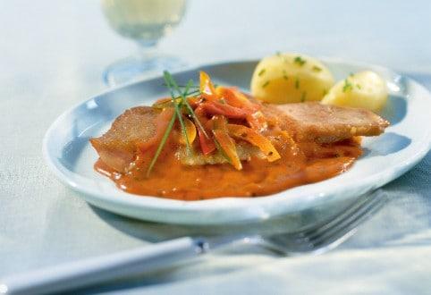 Knorr - Escalopes à la crème aux poivrons