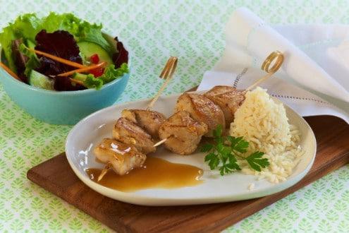 Knorr - Hähnchenspieße mit Reis
