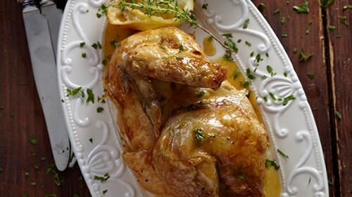 Κοτόπουλο θυμάρι