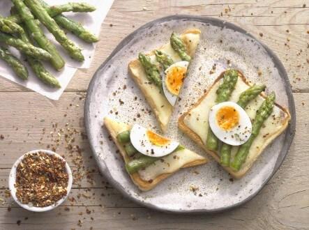 Knorr - Spargel-Käse Toast