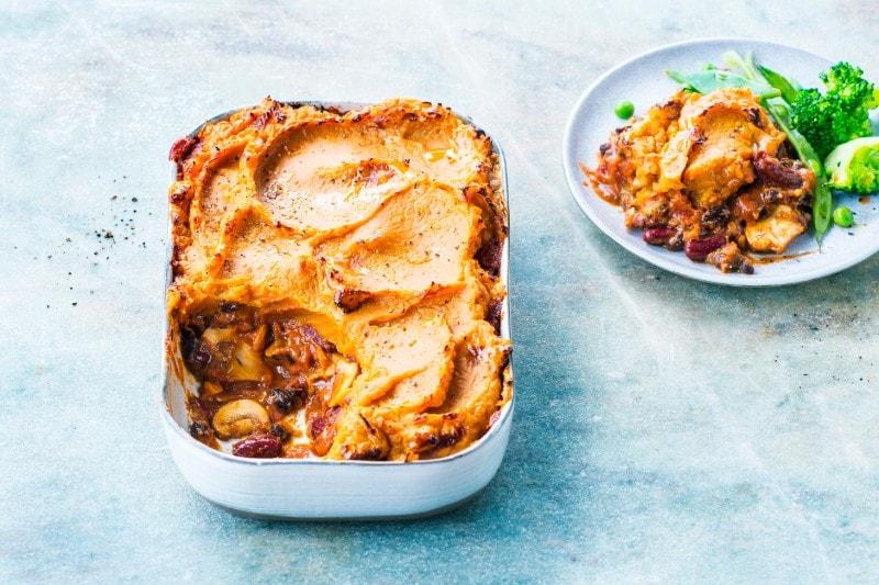 Sweet Potato & Black Bean Shepherds Pie