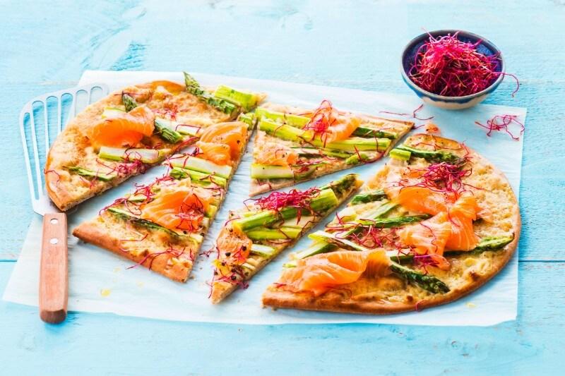 Tarte fine au saumon Knorr®