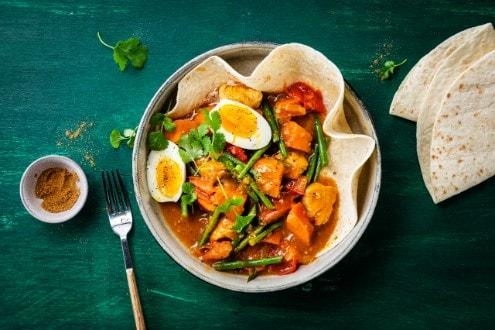 Knorr - Würziges Hühnchen-Curry mit Süßkartoffel