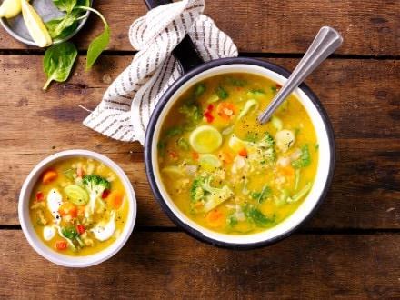 Knorr - Scharfe Linsensuppe mit Gemüse