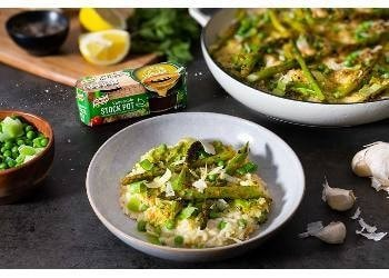 Baked Spring Vegetable Risotto with Knorr's Vegetable Stock Pot