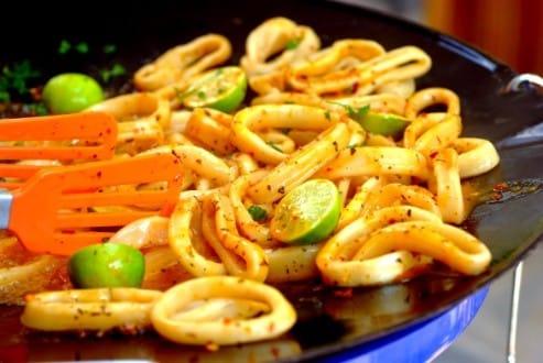 risotto de calamares