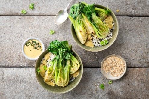 Knorr - Gebratener Pak Choi in Currysauce