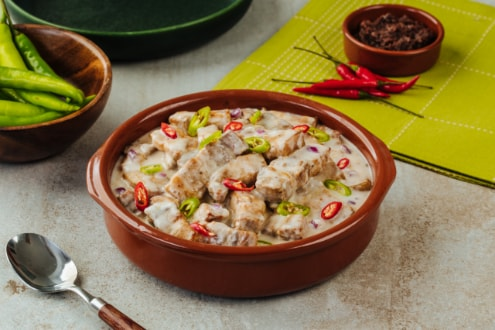 Spicy Bicol Express