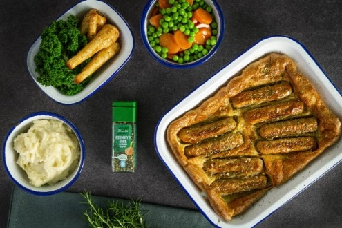 Vegan Toad-in-the-hole