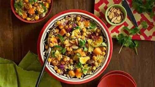 Couscous aux légumes à la marocaine