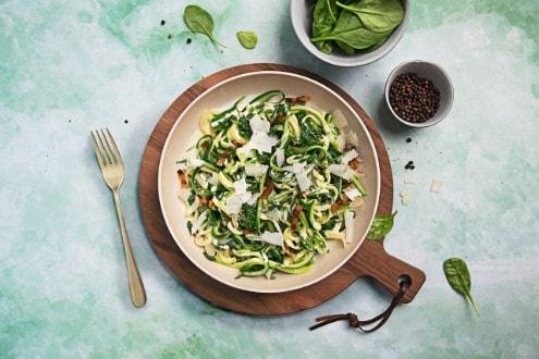 Knorr - Zucchini Carbonara mit Pancetta