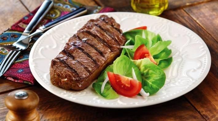 Ojo de bife grillado con provenzal