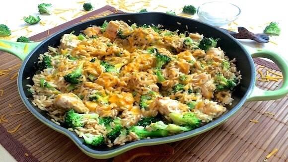 Chicken Cheddar Broccoli Rice Skillet Knorr Us