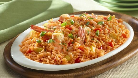 Pineapple Rice & Shrimp