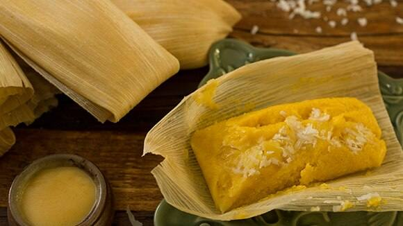 Pineapple Coconut Tamales