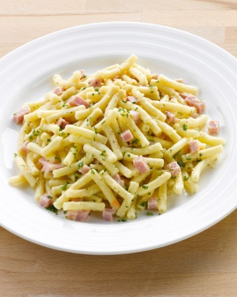 Macaroni met kaas en ham