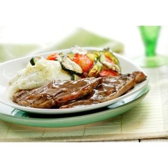 Cotelettes d'agneau et légumes grillés