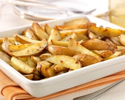 Quartiers de pommes de terre grillés
