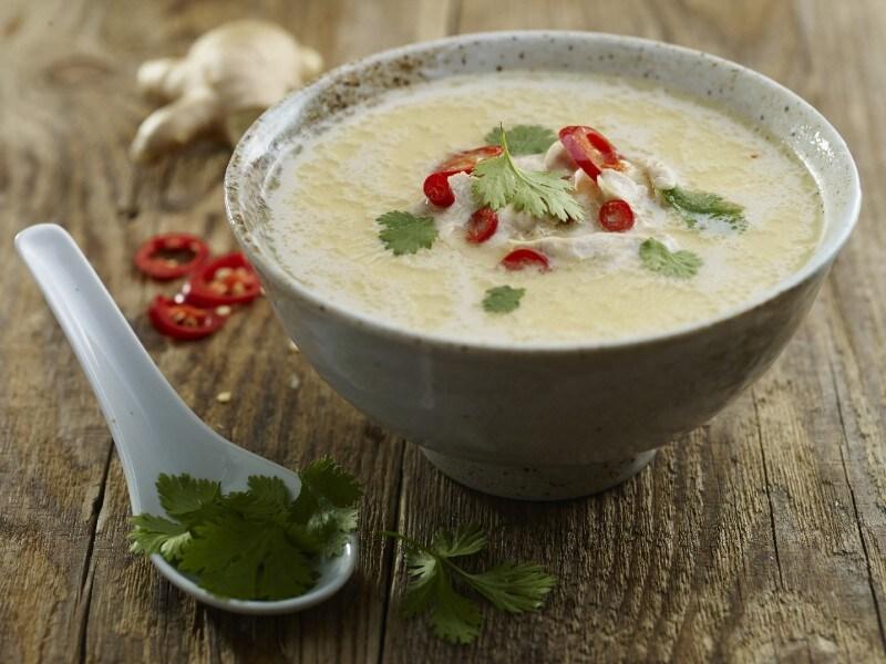 Hartverwarmende Thaise soep