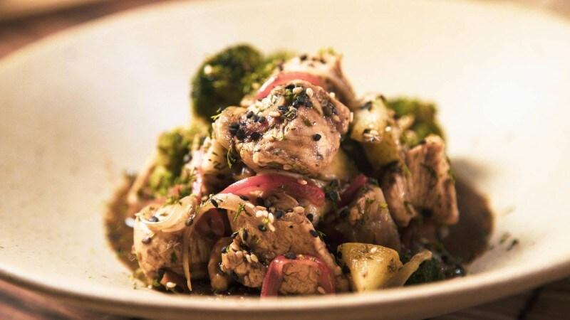 Pechuga de pollo Teriyaki Knorr