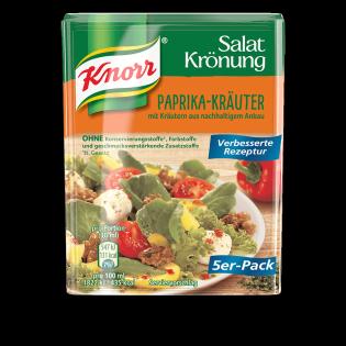 KNORR Salatkrönung Paprika-Kräuter