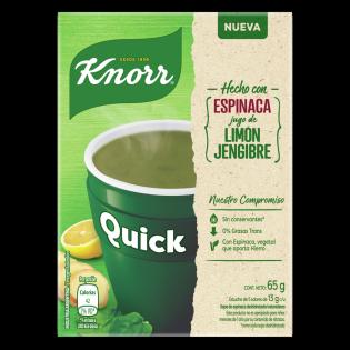 Sopa Quick Espinaca