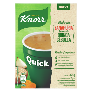Sopa Quick Zanahoria