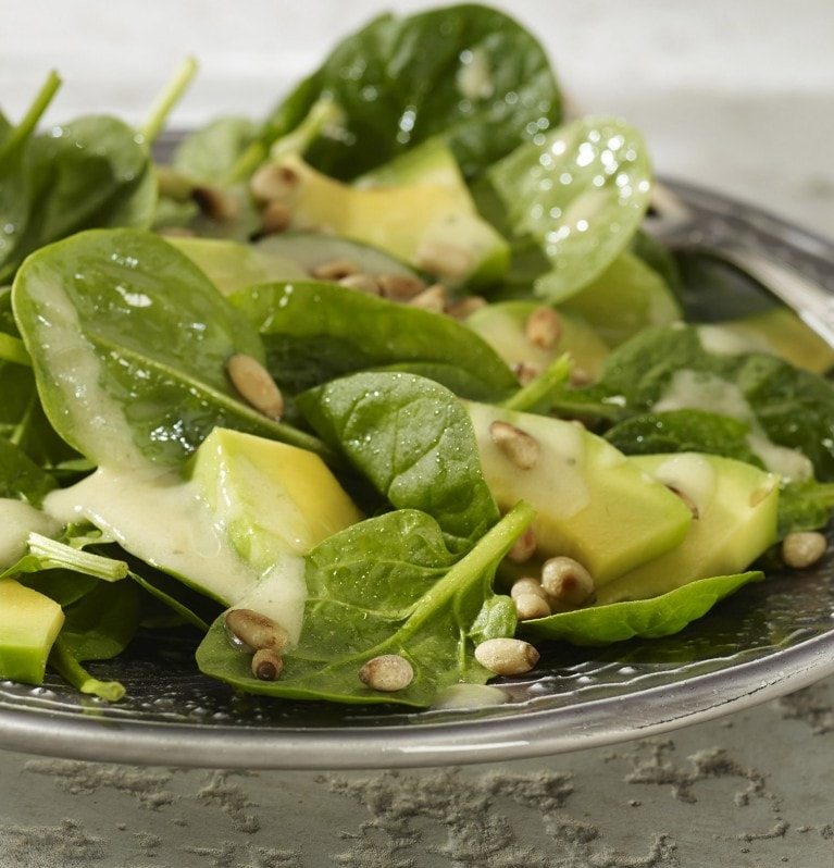 Spinat-Avocado-Salat
