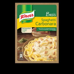 KNORR Basis Spaghetti Carbonara