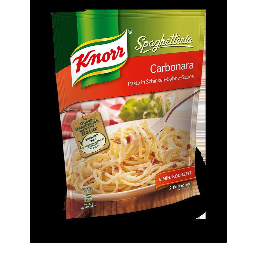 Knorr Spaghetti Carbonara