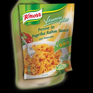 KNORR Vitamin plus Penne in Paprika Rahm Sauce