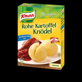 KNORR Rohe Kartoffelknödel Waldviertler Art