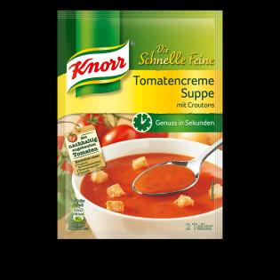 KNORR Die Schnelle Feine Tomatencreme Suppe