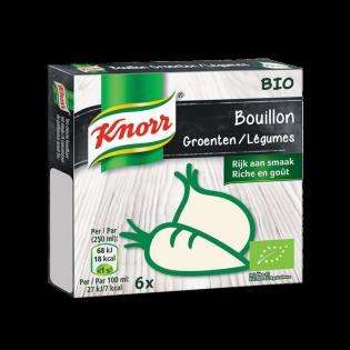 Knorr Bouillon Bio Groenten