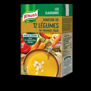 Knorr Douceur de 12 Légumes au Fromage Frais