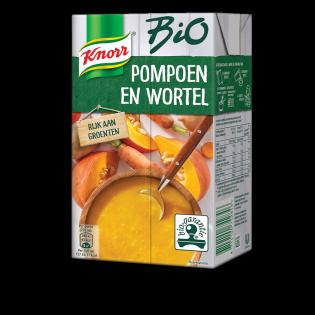 Knorr Bio Pompoen en Wortel