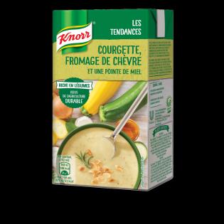 Knorr Les Tendances Courgette Fromage de Chevre et une pointe de miel