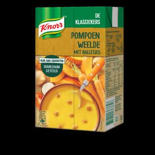 Knorr Pompoen Weelde met balletjes